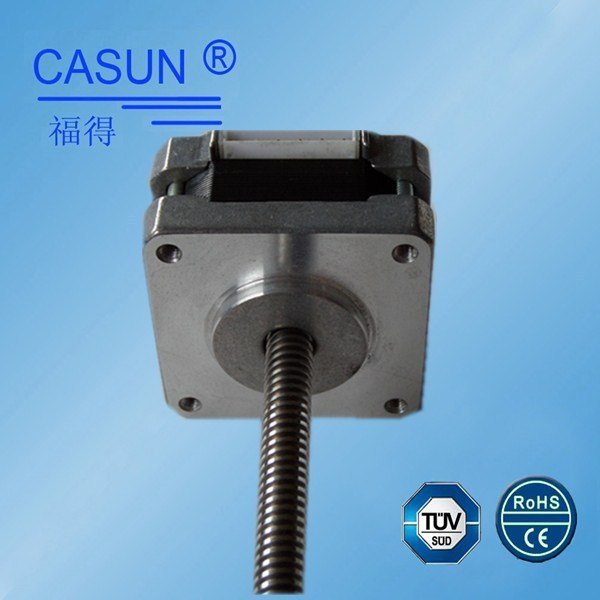 china 39mm micro linear actuator,linear step motor nema 16 captive linear stepper motor with cheap price