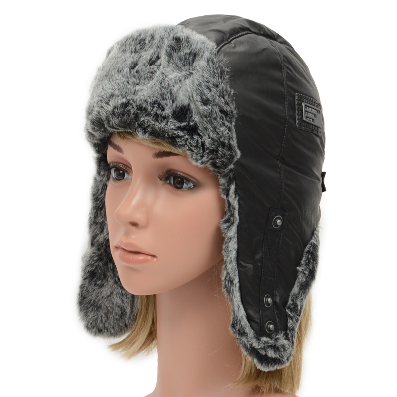 d94e922d3f8 Get Quotations · JP SKY Warmer Earflap Russian Trapper Bomber Winter Snow  Ski Hat Proof Trapper Hats Thick Aviator