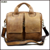 Top quality wholesale mens casual laptop leather bags messenger handbags