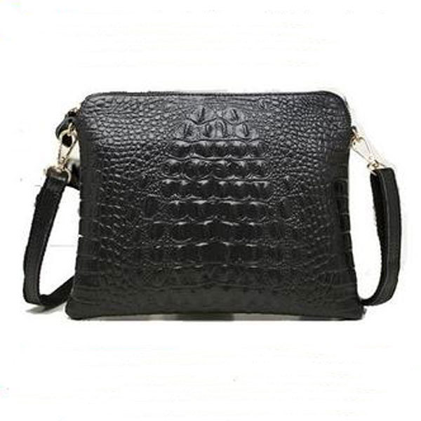 2015 New Fashion Brand ladies Leather crossbody bags for Women Bags Pattern Handbag Shoulder Bag Female Tote Sac Crocodile Bag