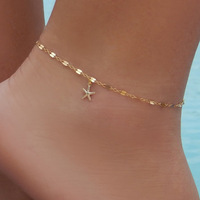 Fashion starfish pendant anklet foot jewelry Wholesale NS800634