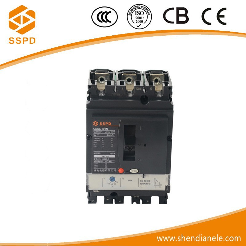 Low voltage vacuum circuit breaker nsx100n