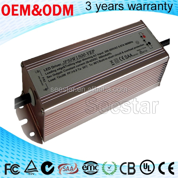 120w led driver constant current shenzhen factory 3300ma switching power supply