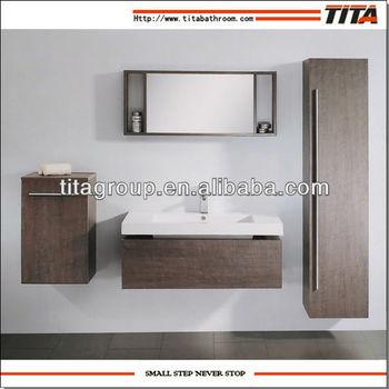 Waterproof bathroom corner cabinet for european market for Waterproof bathroom cabinets