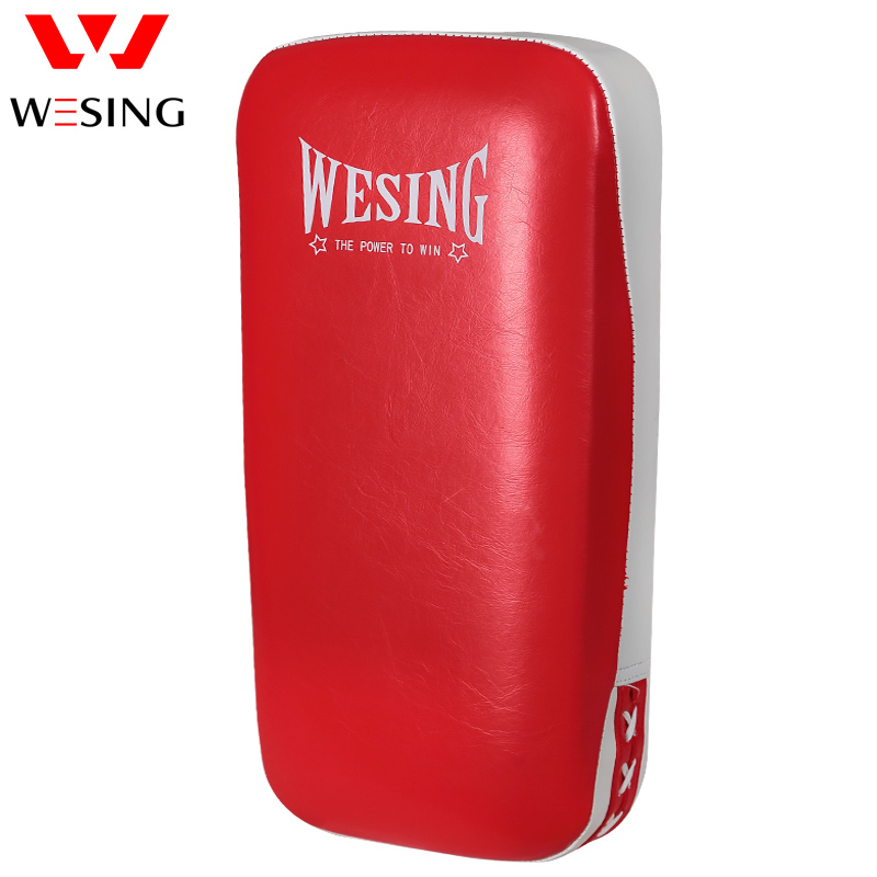 Able Pu Leather Thicken Boxing Foot Target Punching Kicking Pad Arm Shield Target Boxing Pad Karate Muay Tkd Training Foot Target Matching In Colour Fitness & Body Building