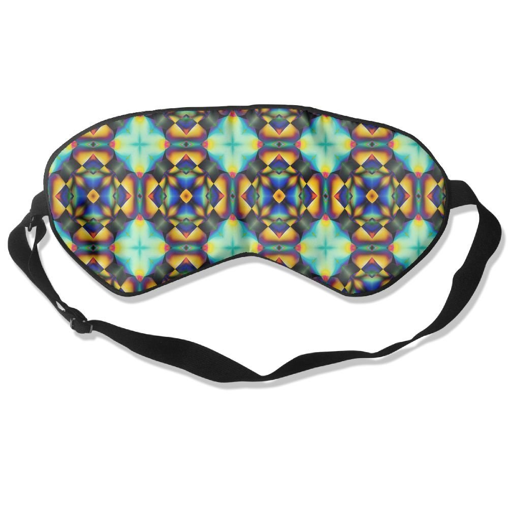 Madge Kelley Eye Mask Adjustable-Strap Eyeshade Sleeping Mask Skin-Friendly Vivid Graphic Blindfold Night Sleep Travel