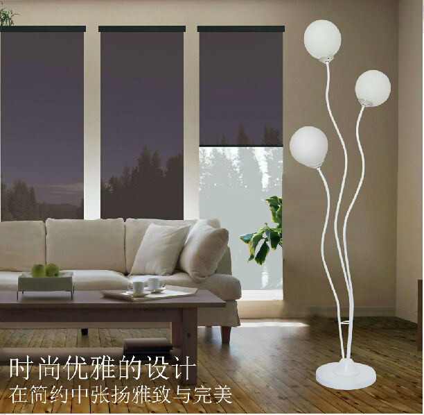 Hot Simple Design Floor Lamp White Color Standing Lights VOL Part 35