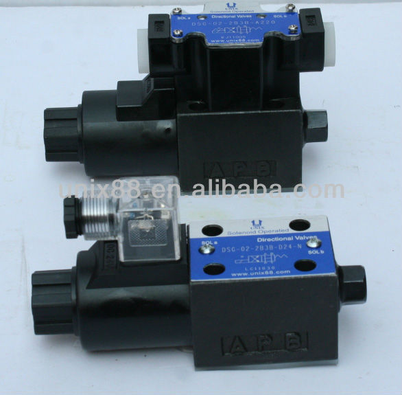 Dsg-02-2b2-d24-n Solenoid Operated Directional Valve Vickers ...