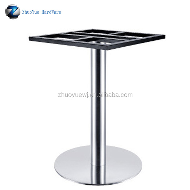 stainless steel dinning table base cast iron dinning leg swivel base for chair MB-49
