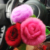 Beautiful 3 Layers Peony Pattern Colorful Pink Mink Fur Flower Accessories