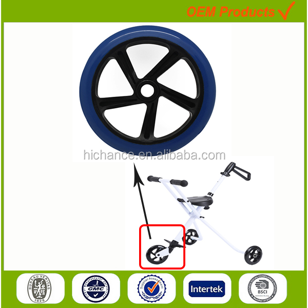 200mm kids carrier baby walker wheel pram carriage wheels