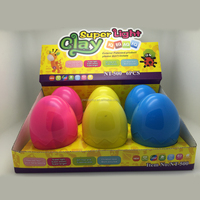 Clay Doll Easy Modeling Super Light Clay DIY Surprise Egg For Christmas