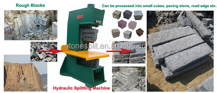 Marble Small Block : Quarry marble and granite split small cubes stone cutting