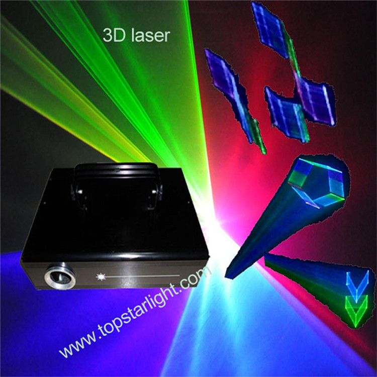 hot new products for 2017 disco lights/ small housing 300mw~700mw 3D Laser/multi color laser light