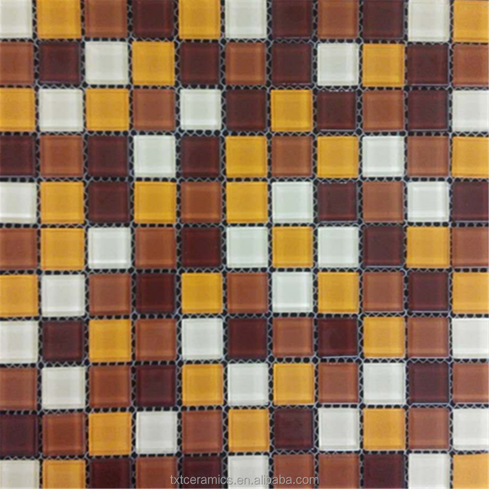 home decor glass mosaic wall tile border decoration building material mosaic tile (M1001)