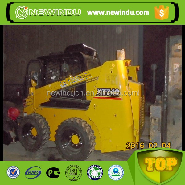 XT760 skid steer loader skid steer bucket china skid steer