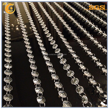 Hot sale crystal beads strand garland for door curtain Christmas decoration