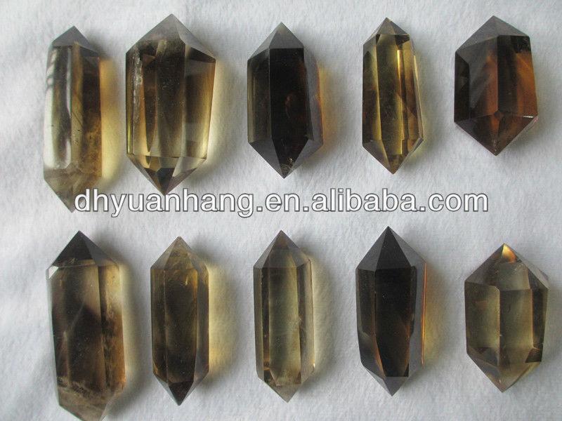 Rare Smoky Citrine Quartz Crystal Double Terminated Point,Quartz ...