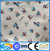 factory price wholesale pure cotton cartoon printed flannel fabric for bed linen and for shirt