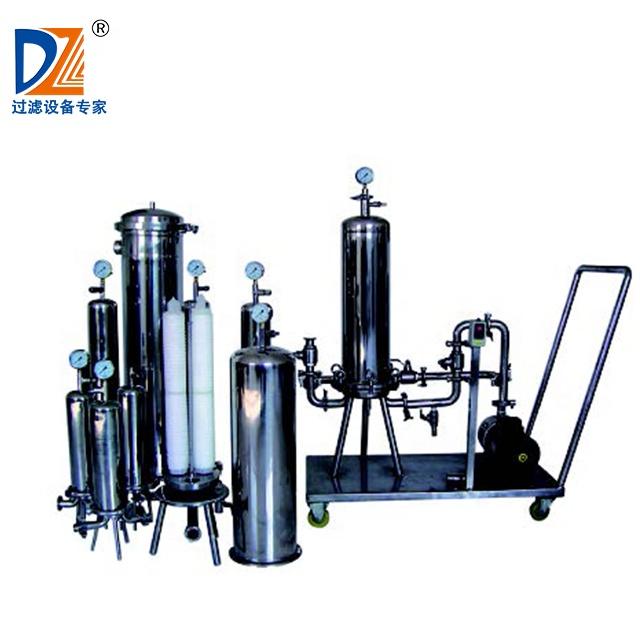 Shanghai Dazhang Cartridge Filter Fijne Filter Voor Wijn Bier Melk Water Filter