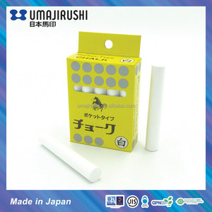 Japan UMAJIRUSHI Calcium Sulphat White Chalks