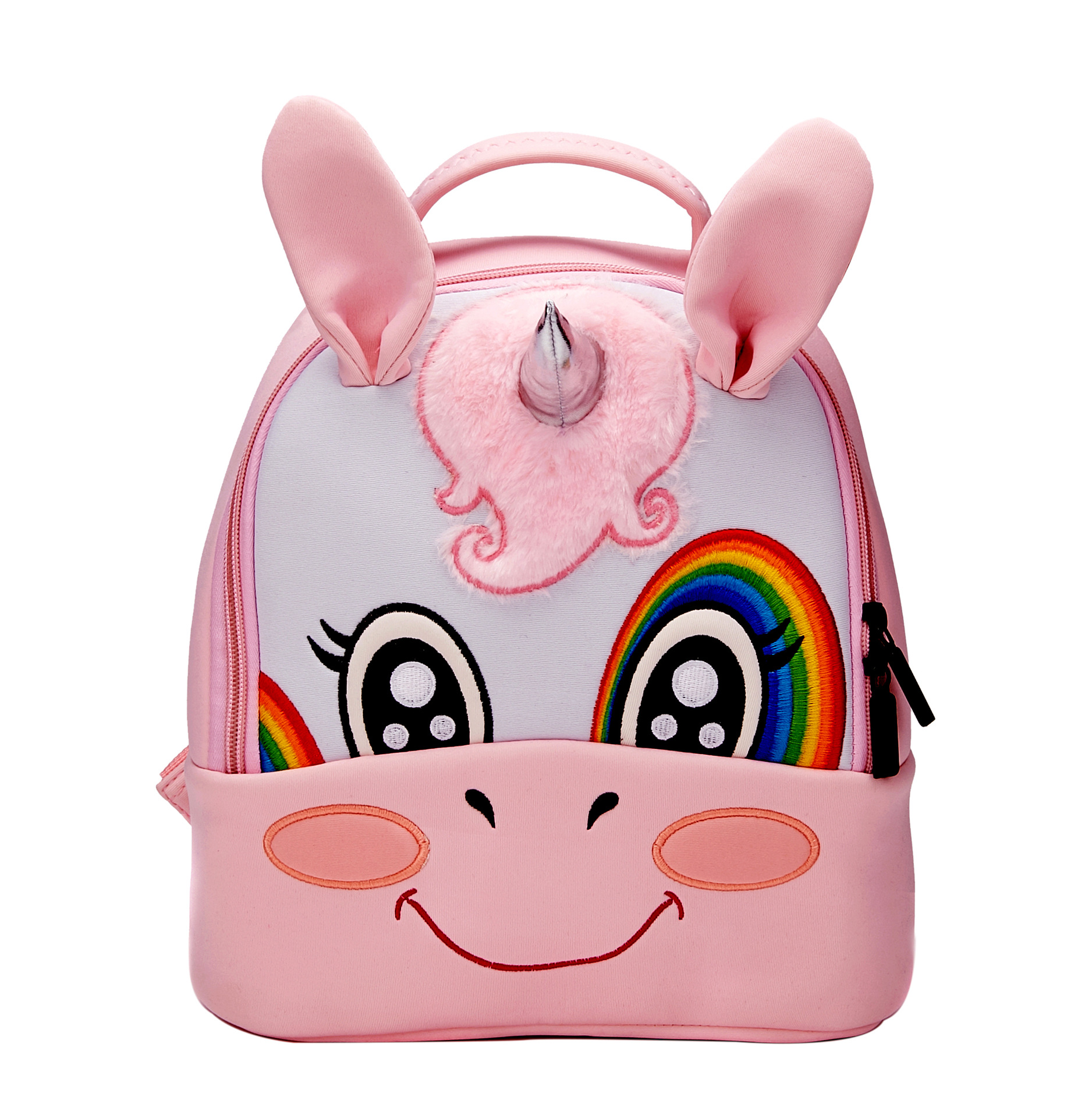 high quality neoprene backpack kids school 3d unicorn bag student school bag