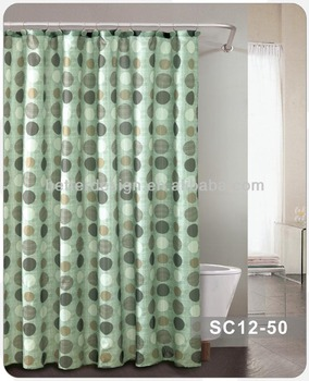 Folding Thick Extra Long Shower Curtains