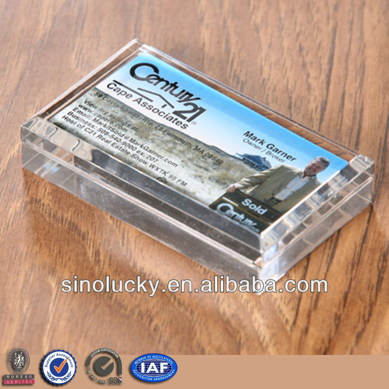 Acrylic Business Card Paperweight Wholesale, Card Suppliers - Alibaba