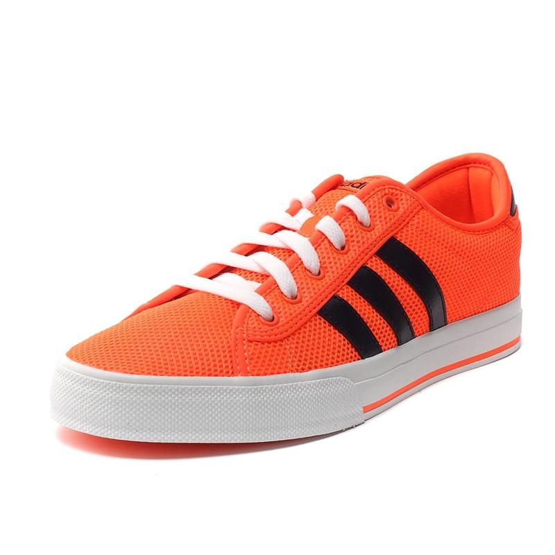new style 2237c 5bfcf adidas neo skate orange