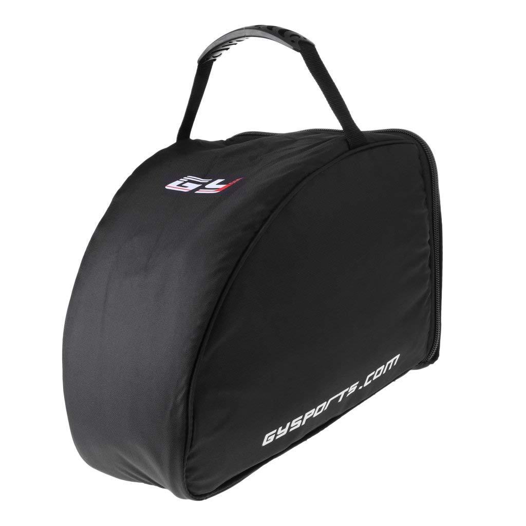 439099695b1 Get Quotations · Prettyia Nylon Goalie Mask Bag Vented Padded Hockey Helmet Equipment  Bag Black