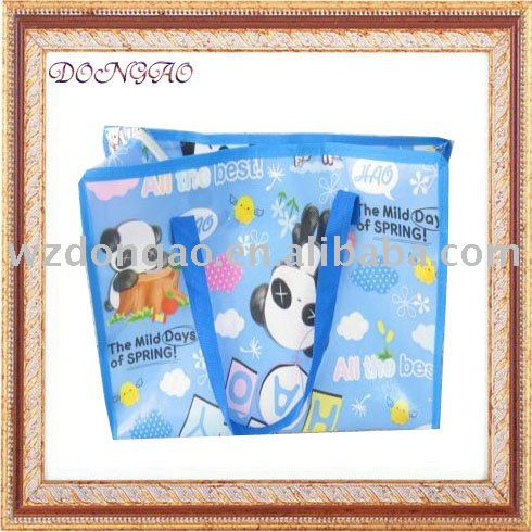 promotional recycle woven pp bag