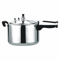 8L Aluminium polishing rice Pressure Cooker With Inner Lid 8L