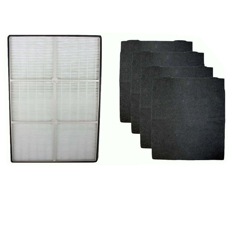 HEPA Filter with 4 Pre-Carbon Filters fits Whirlpool Whispure Air Purifier Models AP450 AP510 AP45030HO; Replaces Part # 1183054