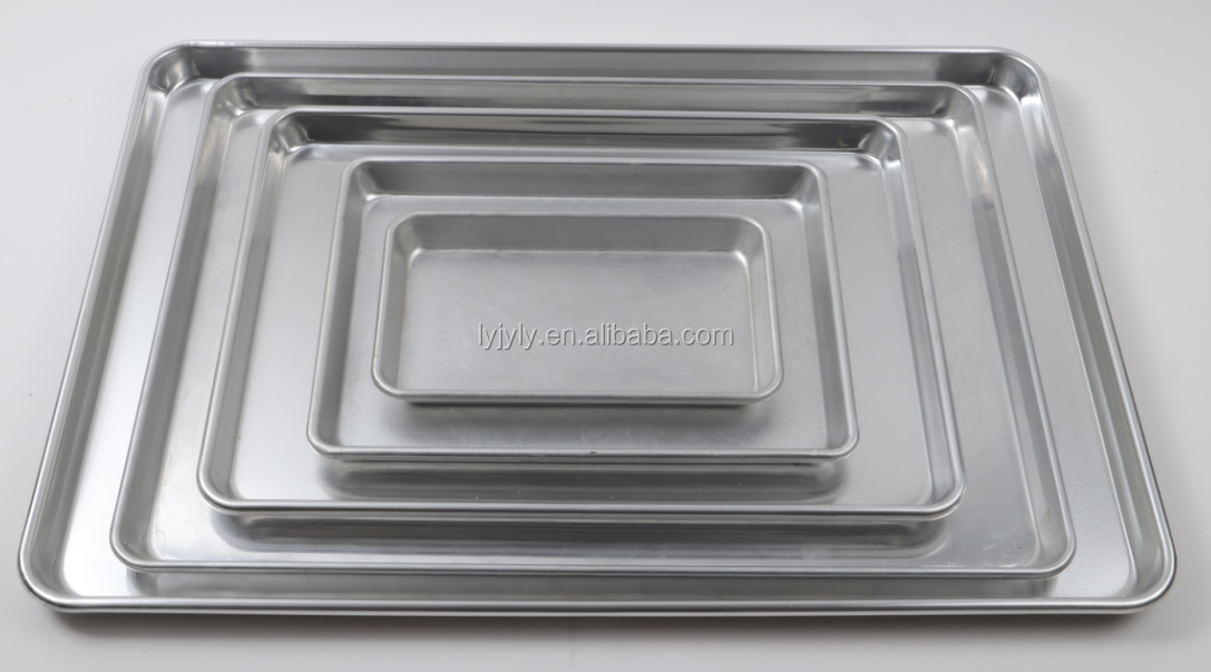 455mm x 655mm x 35mm 1.2mm 5 Grooves Aluminum 3003 Branded Non Stick Coating Sandwich Bakery Tray Bakery Pan