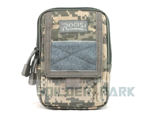 4 Colors Original ROGISI 1000D CORDURA Material Molle Systems Utility Accessory Phone Pouch Waist Bag Durable Fashion Bag
