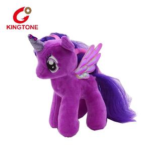 2019 latest design plush horse toys soft stuffed fluffy pony toys