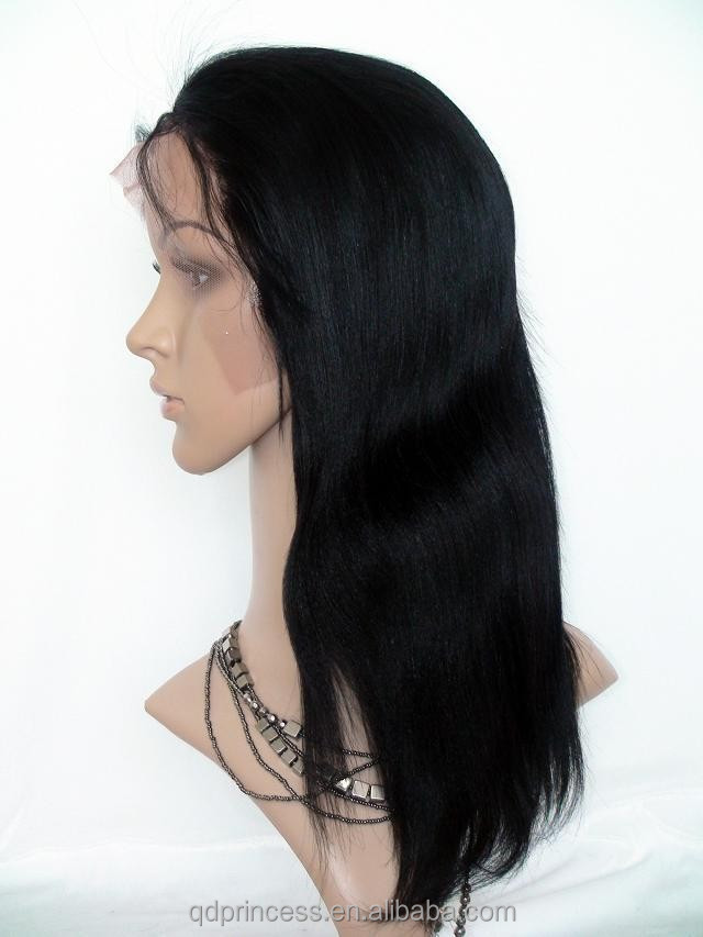 Top Quality Cheap Sale Virgin Human Hair Silky Straight Full Lace Wig Natural Hairline Russian Hair Wig Fast Delivery