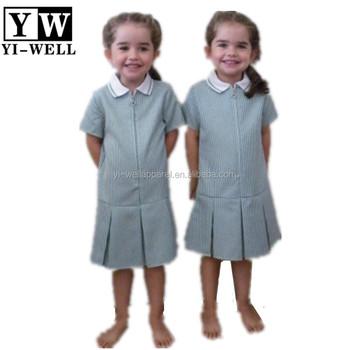 Dress Plaid Kindergarten Nursery