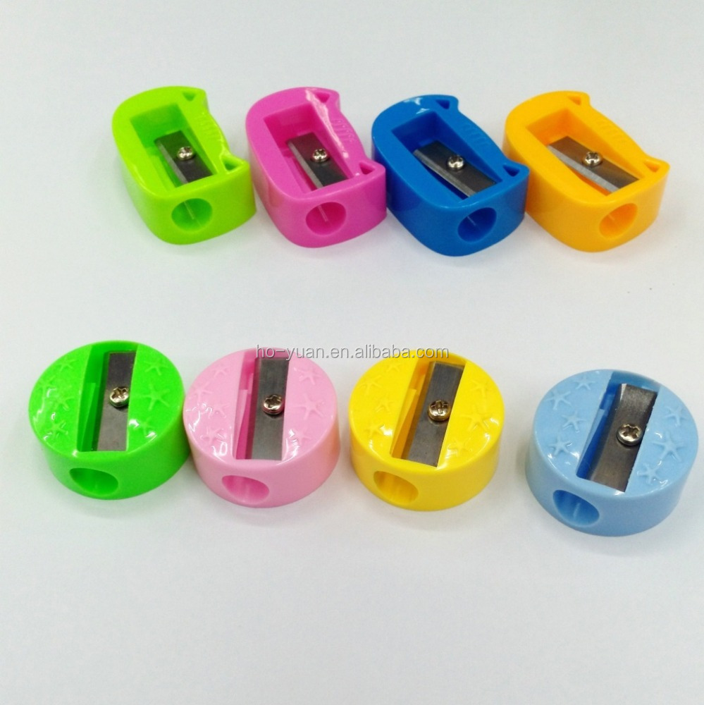 Colorful Hand Hold Sharpener Plastic Pencil Sharpener for Students