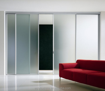 High Quality Acrylic Sheet For Sliding DoorRoom Divider Clear