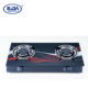RD-GD152 Glass top 2 burner Gas cooker China gas stove cooktop