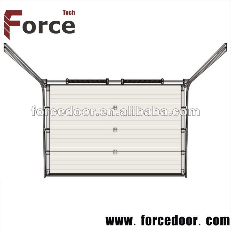 European type of resident garage doors