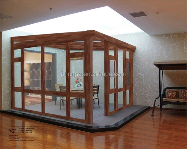 Garden House Portable Aluminum Sun Room/glass Sun Room China ...
