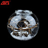 China factory wholesale handmade glass candle holder with deer