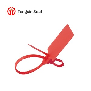 TX-PS201 plastic trailer security seals plastic security strap seal for mail mag