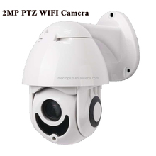 Micro ptz 1080p 4x zoom home ip camera security cctv ptz dome camera with 2 way audio