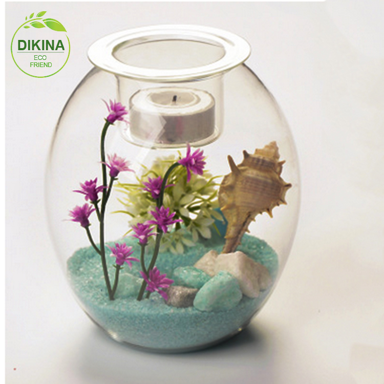 >>3 sizes for your reference >>> Would be a great addition to any home or wedding gift >>> clear geometric large glass fish bowl