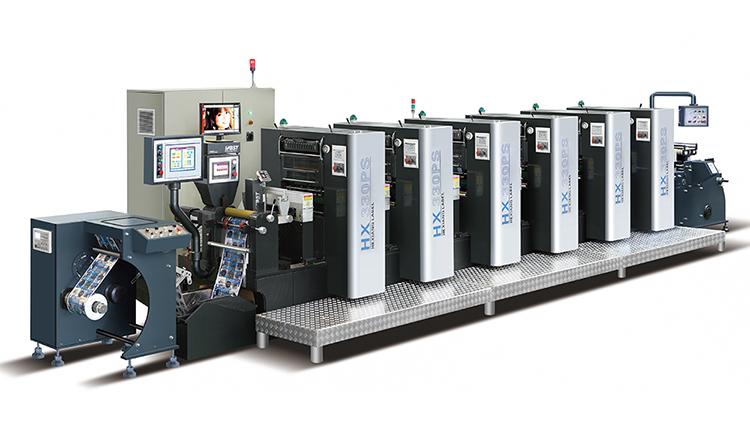 hx-330 vier kleuren offset drukmachine