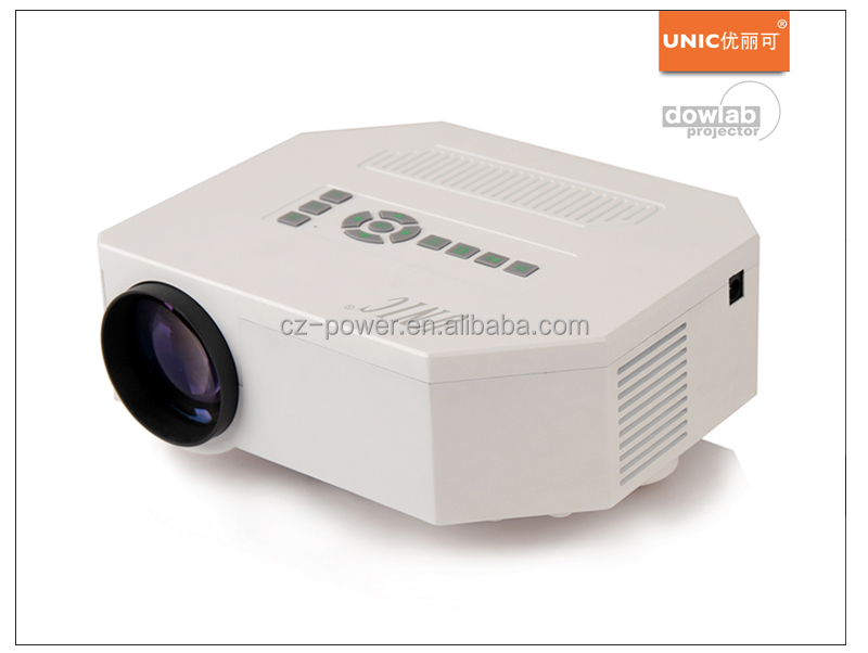 Newest Design Mini LED Projector UC30 150 Lux 640 x 480 Pixels LED Projector Portable Home Theater Projector