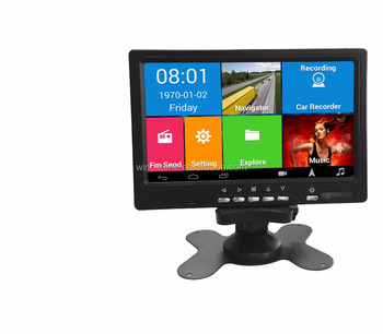Android Car GPS navigation with DVR,FM transmitter,wifi and Bluetooth handsfree